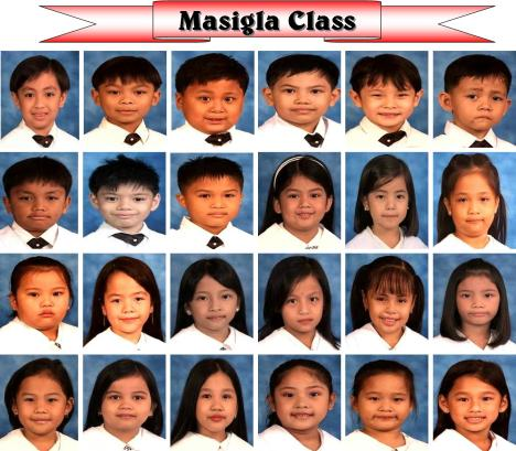 The Masigla Class of the Pre-school Department