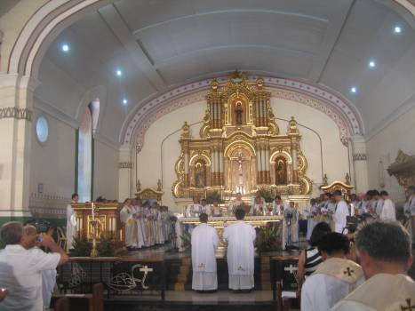 Thanksgiving Mass at St. James the Elder Cathedral in Bangued
