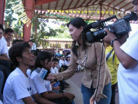DWCU DELEGATE INTERVIEWED BY GMA-7 BALITANG AMIANAN