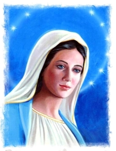 HAPPY BIRTHDAY MOTHER MARY