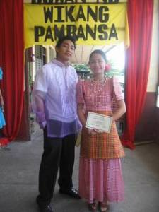 Mr. Albert Janssen Belandres and Ms. Nika Paula Paulo