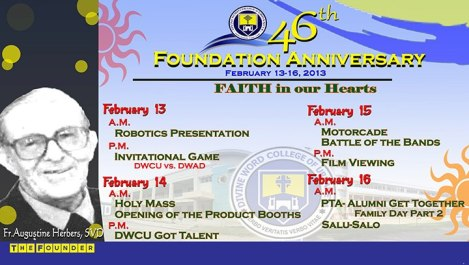 DWCU 46th Foundation Day