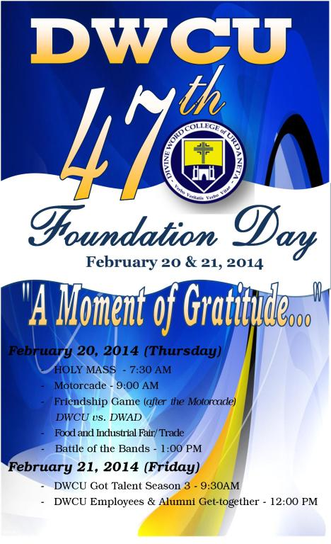 DWCU 47th Foundation DAY
