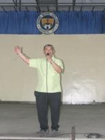Fr. Gil T. Manalo, SVD, DWCU President