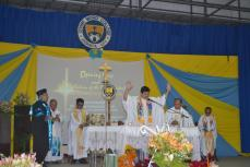 The Eucharistic Celebration during the Rite of Installation of Fr. Roberto J. Ibay, SVD